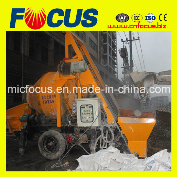 Jbt30 Electric or Diesel Concrete Pump with Mixer