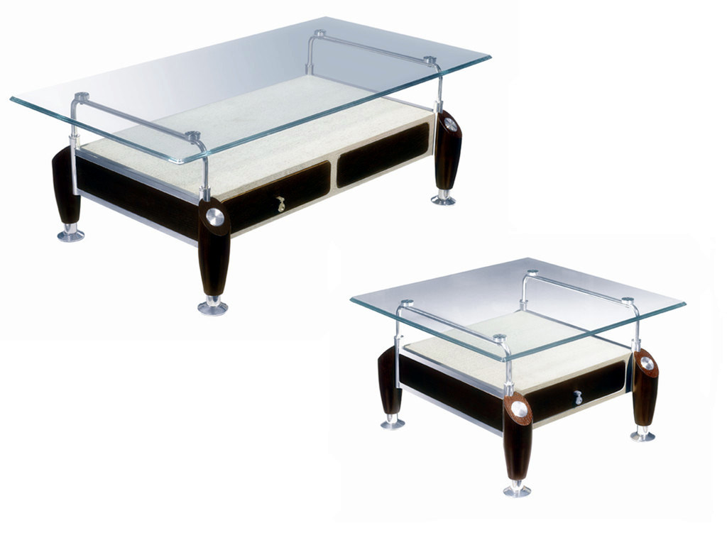 Glass amp wooden coffee table cj 3065a 3065b china glass amp wooden