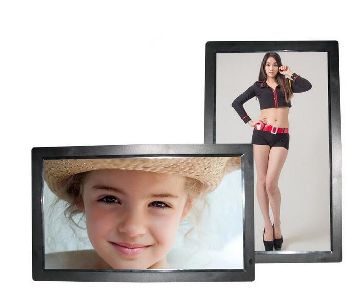 18.5 Inch Digital Photo Frame Full HD 1080P Digital Frame for Advertising