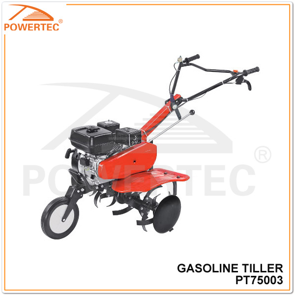 Powertec 5.5 HP 80-120mm Gasoline Tiller (PT75003)