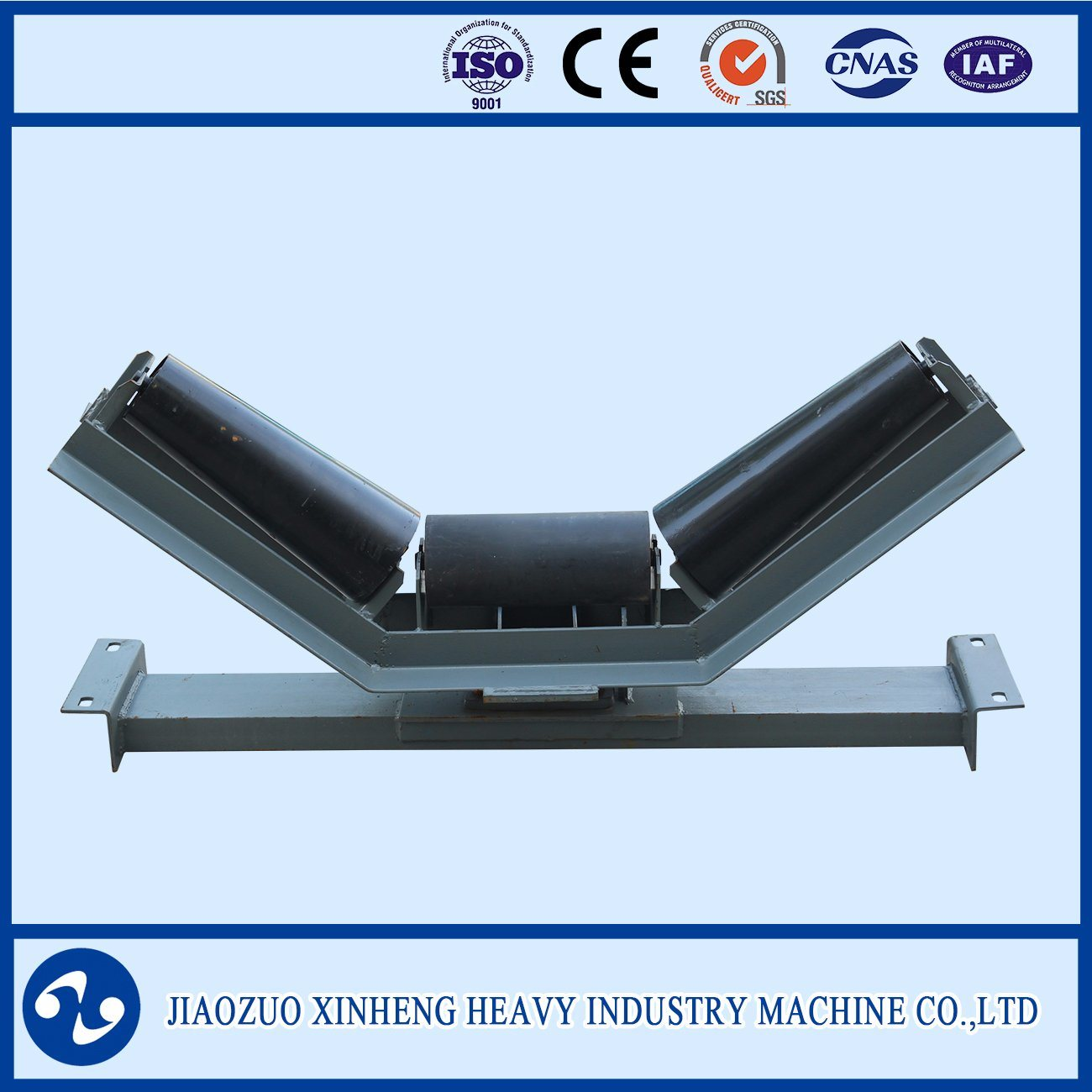 Trough Belt Conveyor Roller Group / Carrier Idler / Impact Roller