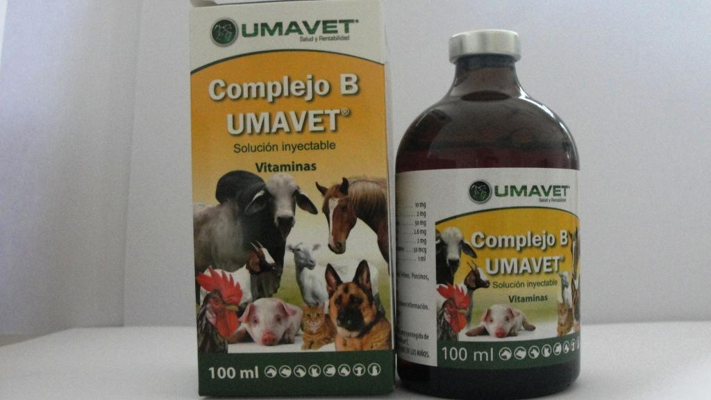 Complex Vitamin-B Vitamin Injection