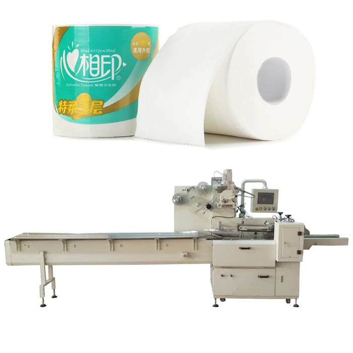 Toilet Roll Packing Machine for Tissue Paper Heat Shrink Sealing Machine