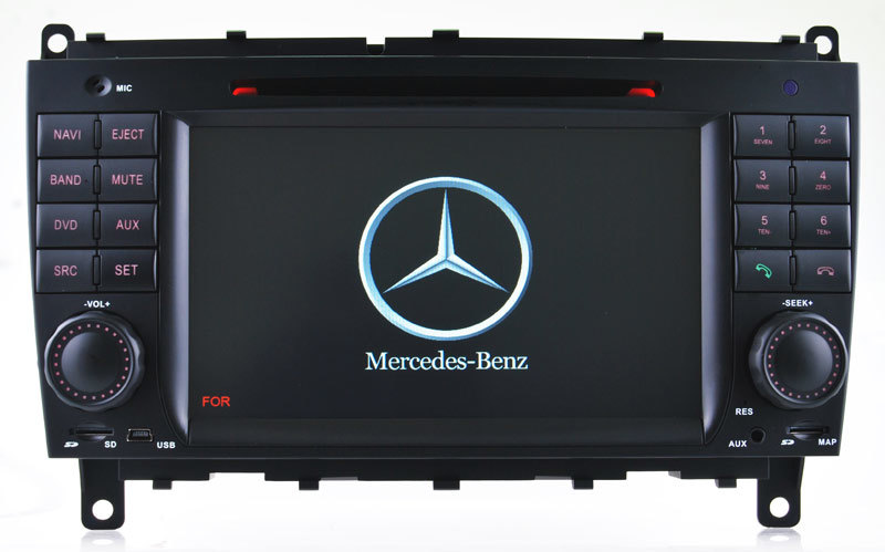 Hualingan Car Multimedia Player DVD Player for Benz Cls W219 DVD Navigation