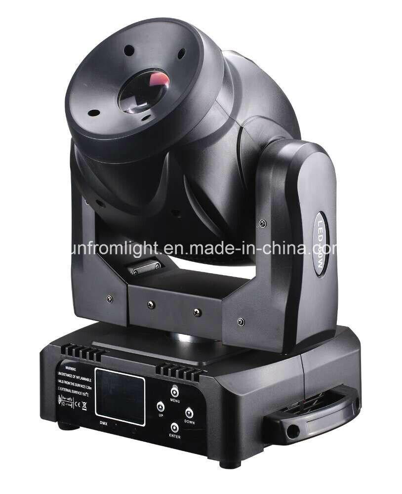 60W Mini LED Moving Head Spot Stage Light