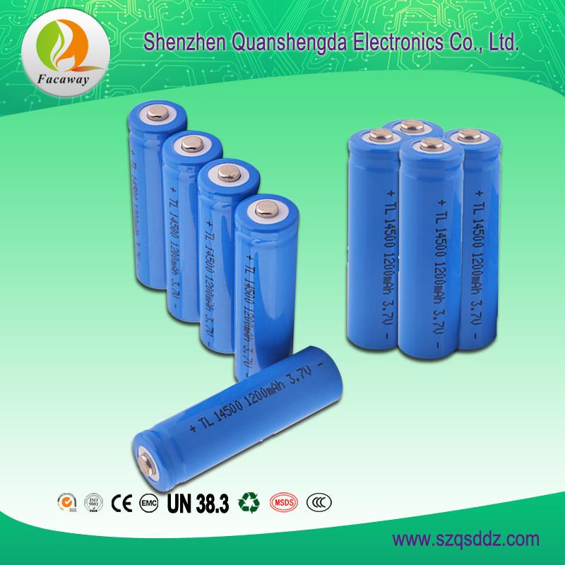 (QSD-12) 3.7V 1200mAh Li-ion Battery Pack