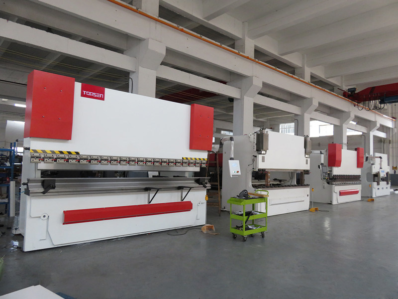 63t 1600mm Electro-Hydraulic Servo Sheet Metal Plate CNC Bending Machinery