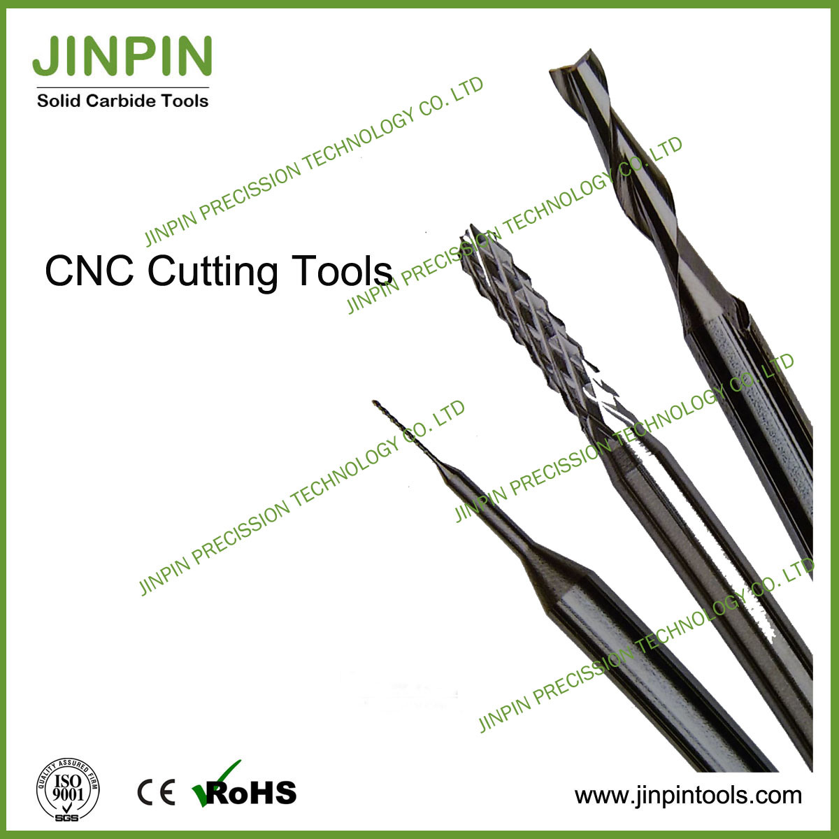 Solid Carbide Double- Flute End Mill