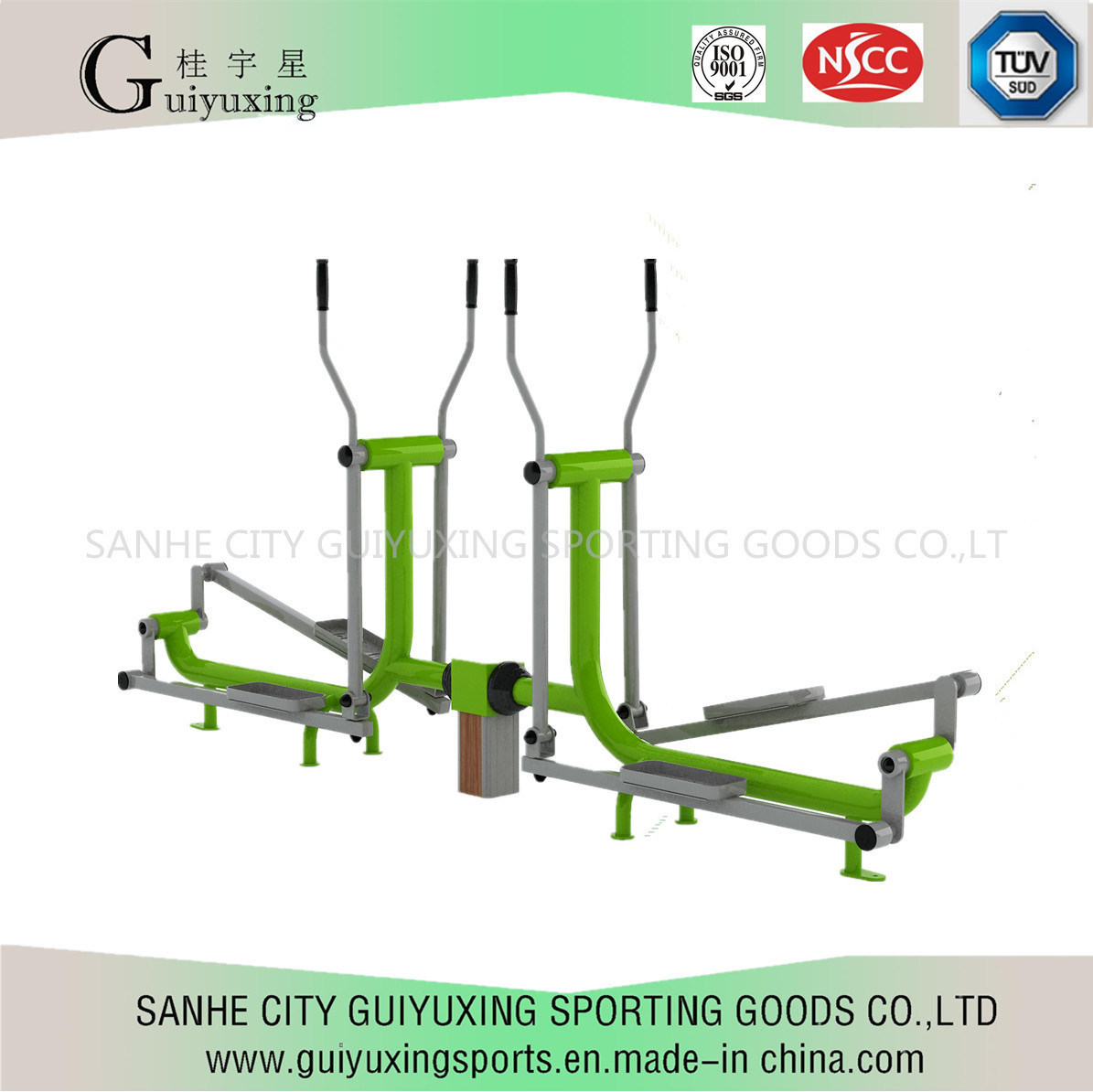 Outdoor Fitness Equipment for Enhancing Human Heart Function