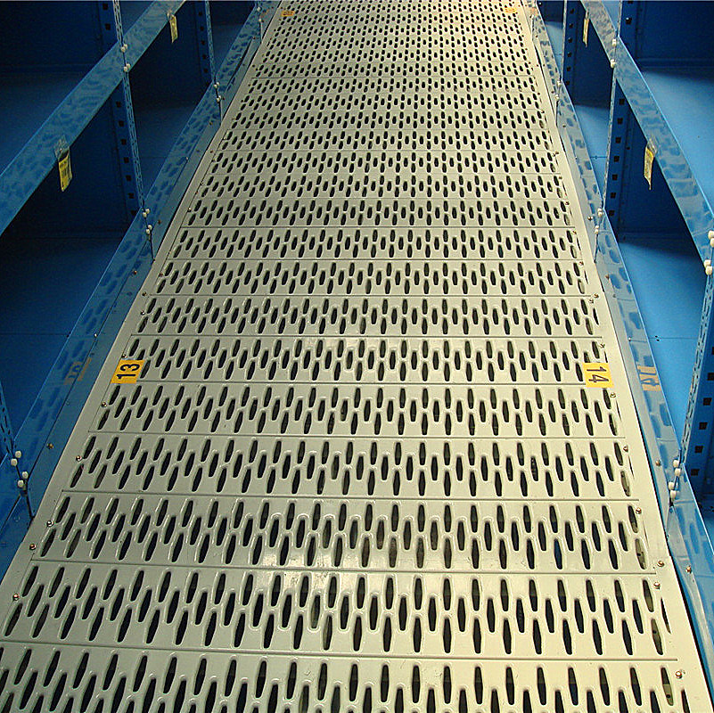 Perforated Mezzanine Flooring Conform with Fire Regulation