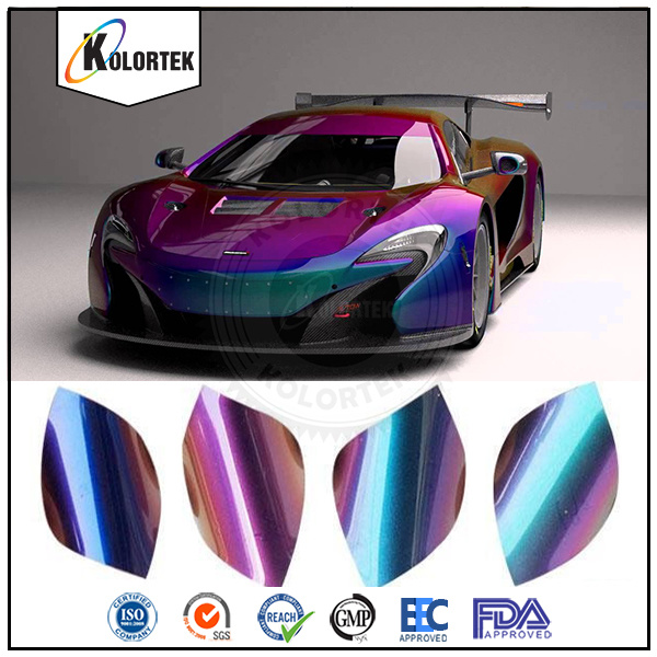 Auto Paint Pigments, Color Shift Effect Pigments Supplier