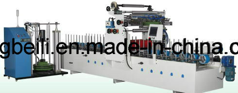 Cabinet Decorative TUV Certificated Mingde Brand Woodworking Wrapping/Coating/Laminating Machines