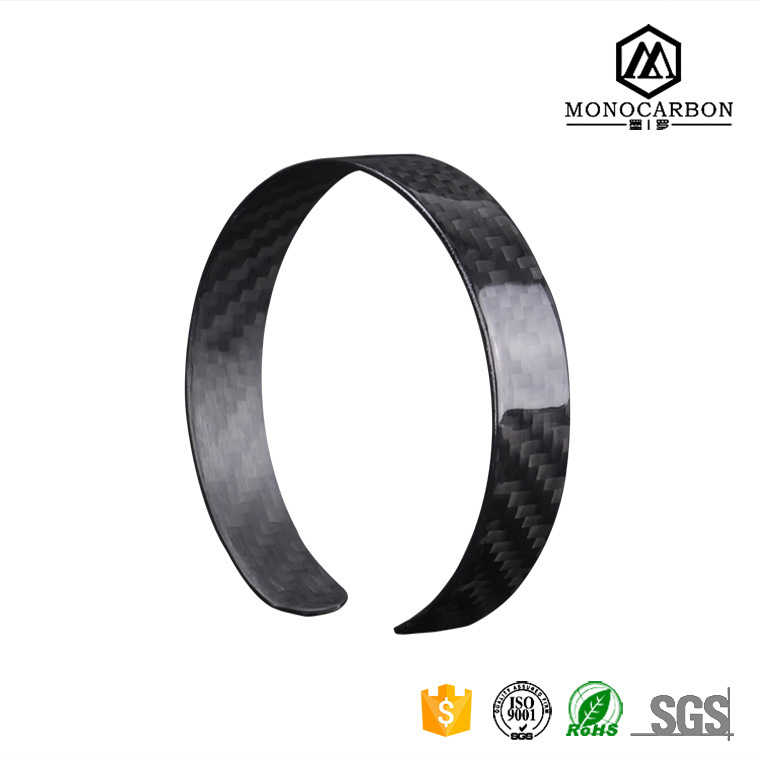 2017 Luxury Fashion Carbon Fiber Love Bracelet for Men Hotsale in China