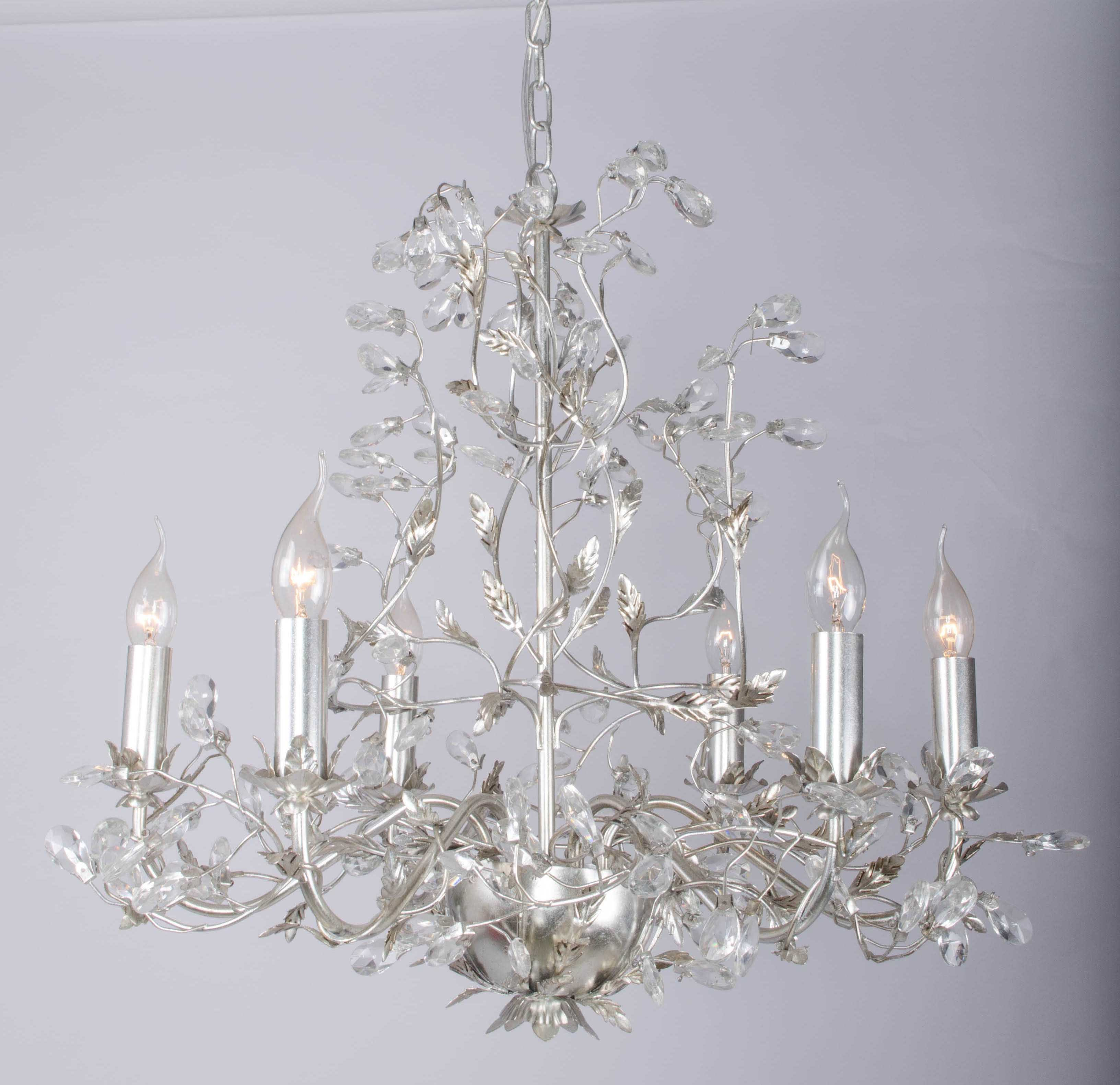Factory Top Sale Silver Foiled Chandelier