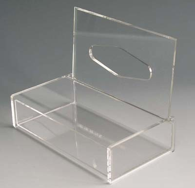 Customize PMMA Supermarket Store Exhibition Show Clear Acrylic Display Box