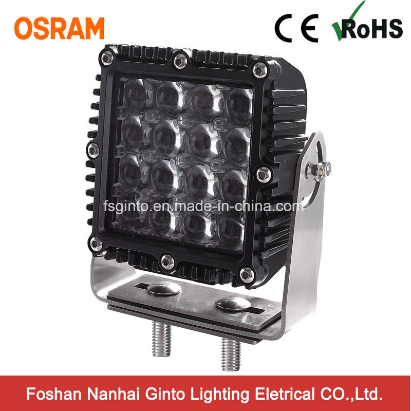 Incredible Penetration 4D 80W 7inch LED Work Driving Light (GT1007Q-4D-80W)