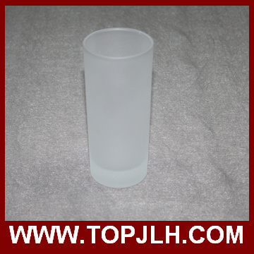 China Supplier 8 Oz Frosted Glass Cone Mugs