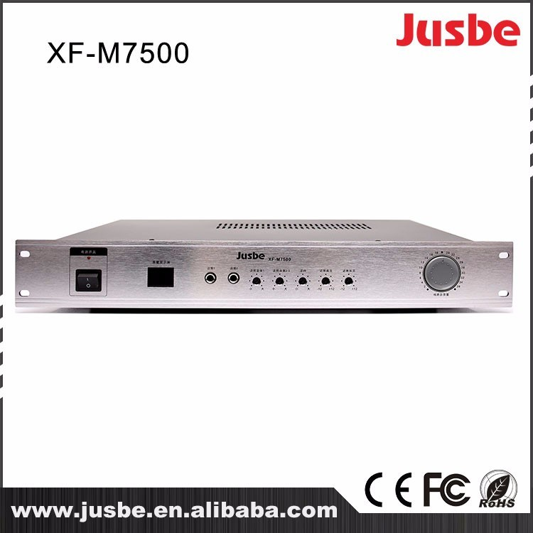 Jusbe Xf-M7500 Integrated Power Amplifier Instrument PA Power Amplifier