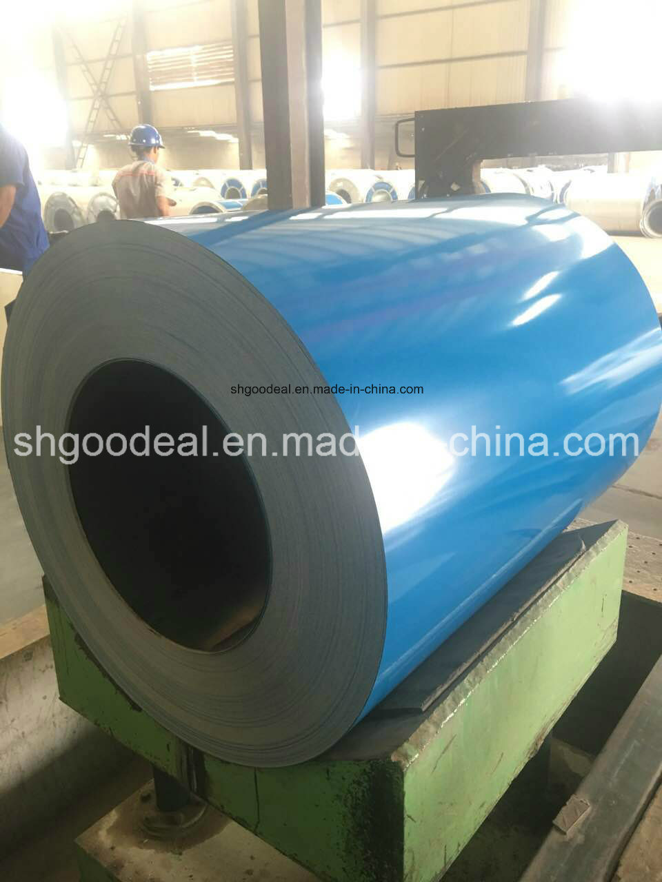 Color Coated Steel Coil Gi/Gl/PPGL PPGI Manufacturer From Shandong China