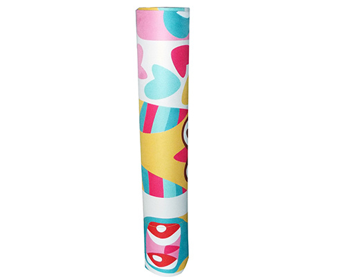 Full Color Heat Sublimation Printing Yoga Mat Customizable