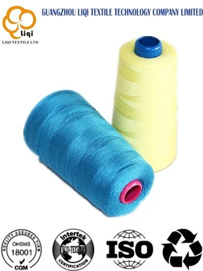 Hot-Selling 100% Polyester Spun Yarn Polyester Sewing Yarn 40s/2