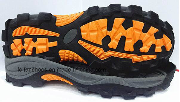 Hot Sell Comfort Outdoor Climing Hiking Running Sport Shoes TPR Outsole (NL1230-1)