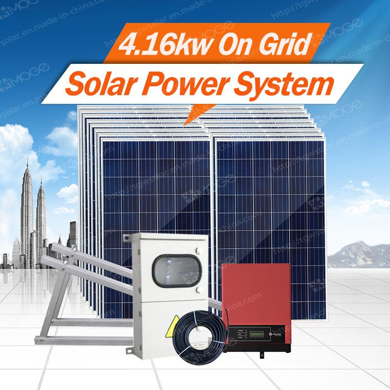 Morego on Gird Solar Energy System 2kw-30kw for Lighting