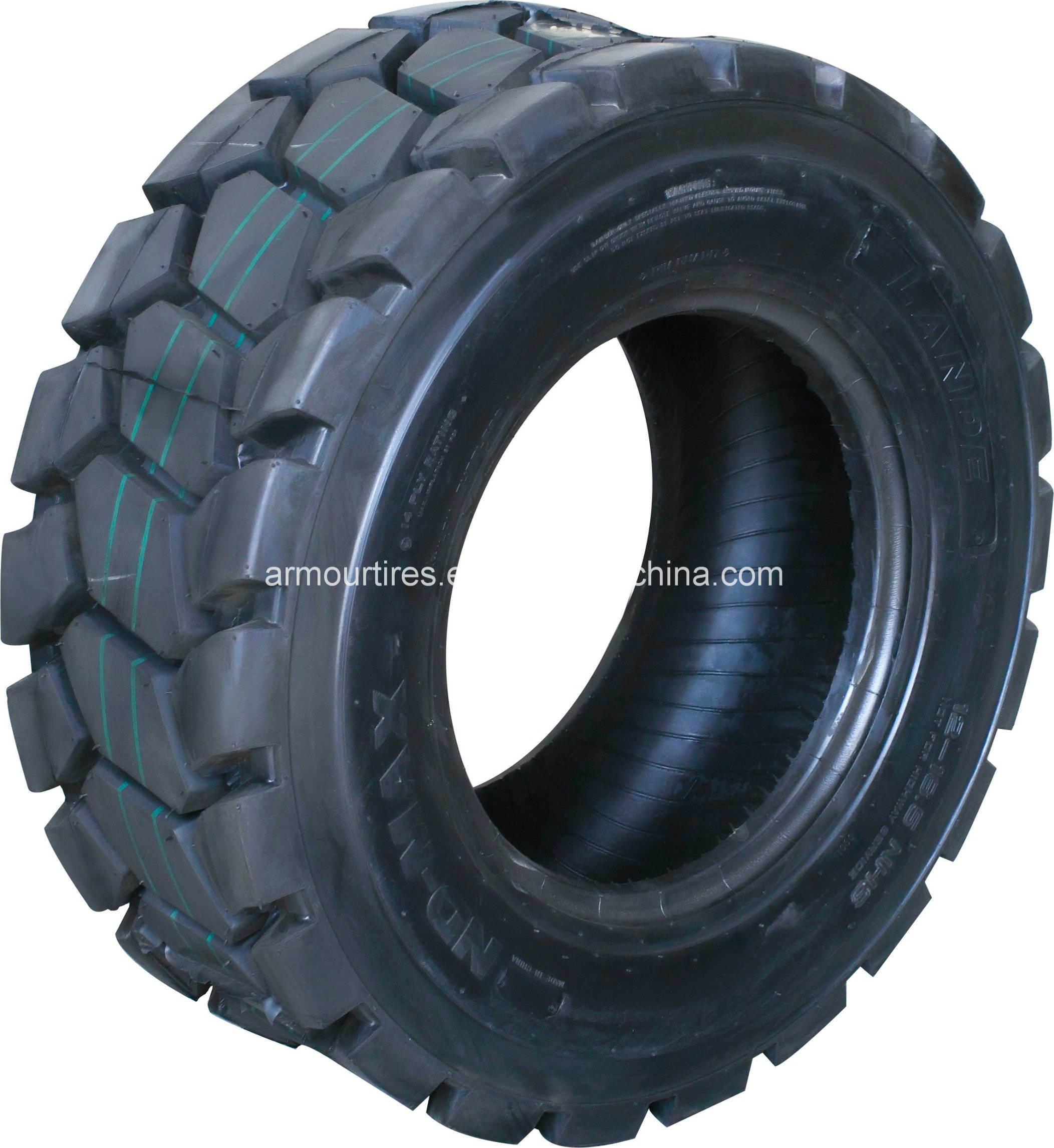 (10-16.5, 12-16.5 L4B) Armour Skid Steer Tire (for BOBCAT, JCB)