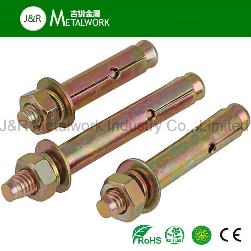 Grade 8.8/10.9/12.9 Carbon Steel Galvanized Zinc Plated Expansion Anchor Bolt