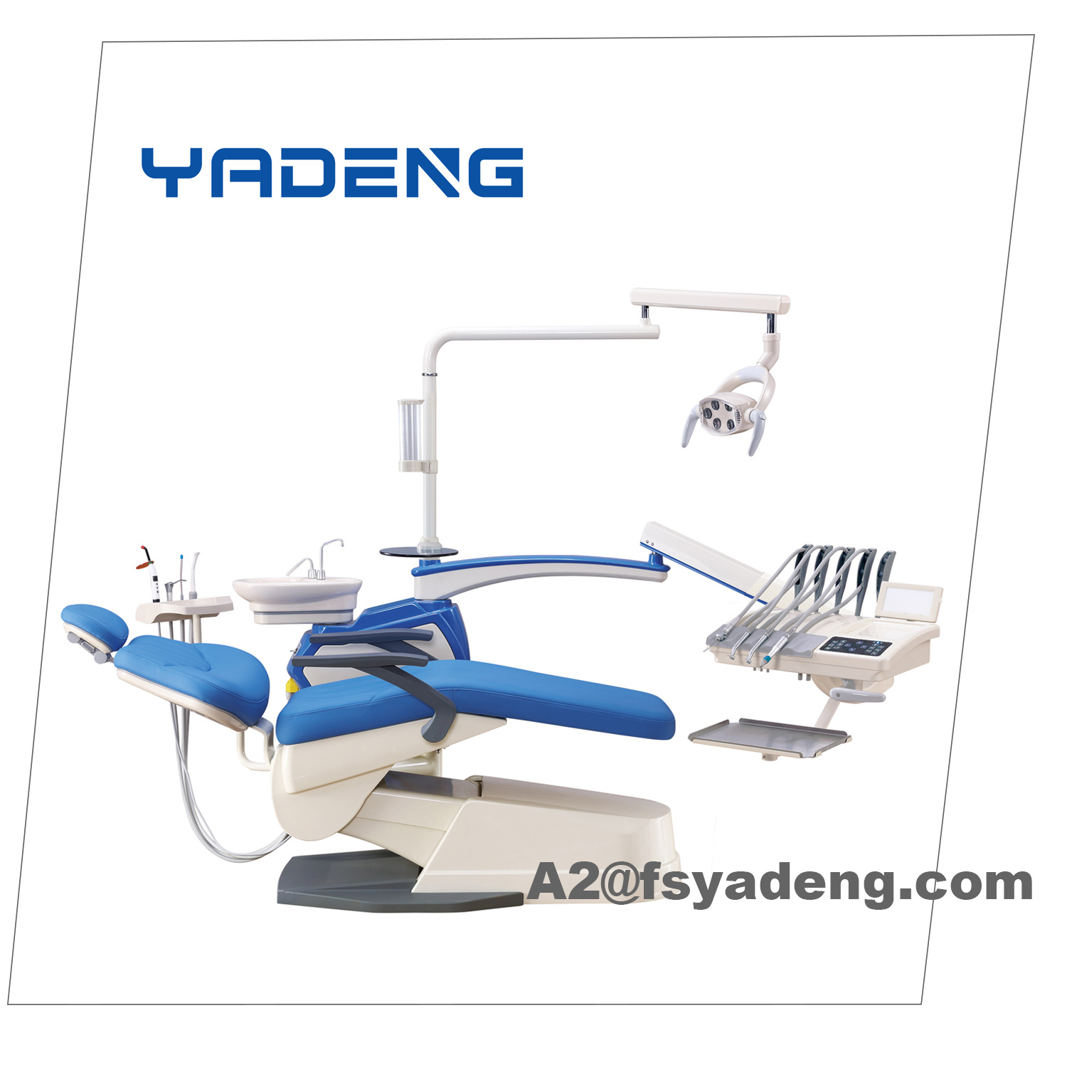 Newest Dental Chair Unit Touch with Top Mounted