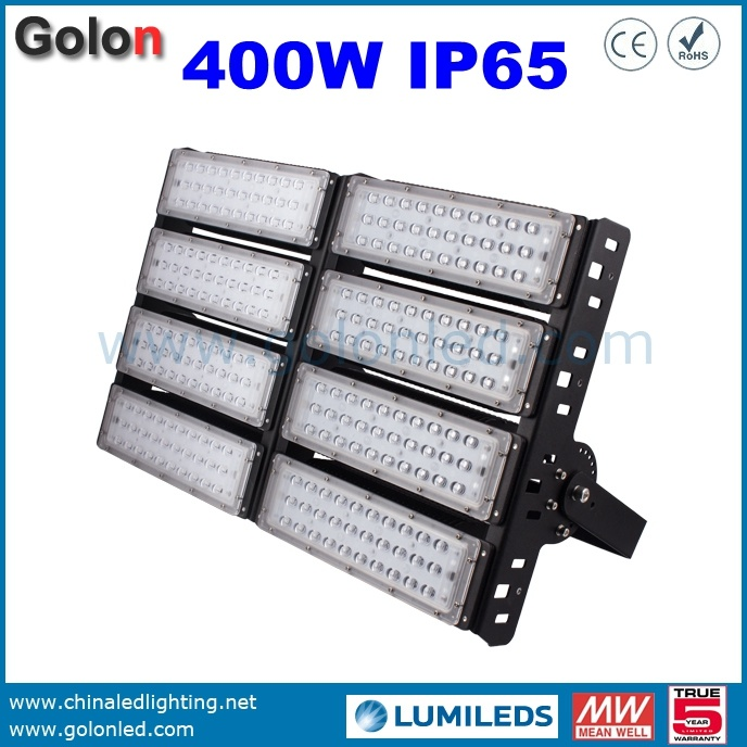150W 400W 300W 200W 100W 50 Watts Dimmable Aluminum Module Tunnel Lighting Outdoor LED Flood Light