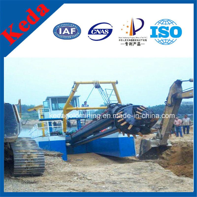 Hydraulic 18 Inch River Cutter Suction Dredger