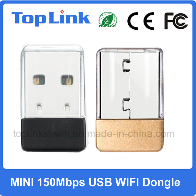 Top-7A05 Mini 150Mbps Mediatek Mt7601 Nano Wireless USB WiFi Dongle Support Soft Ap with Linux Source Code