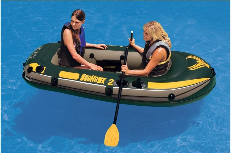 3m PVC Inflatable Fishing Boat and Inflatable Aluminum Floor Boat