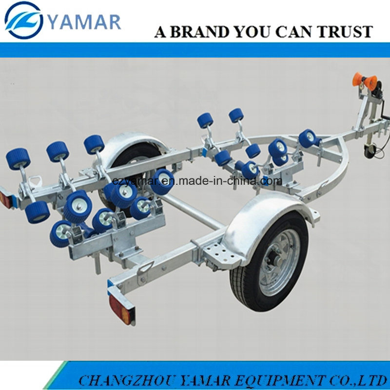 3.8m Galvanized Boat Trailer