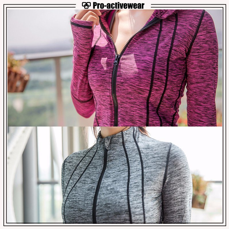 Hot Items Custom Unisex Fitted Sport Jackets for Running