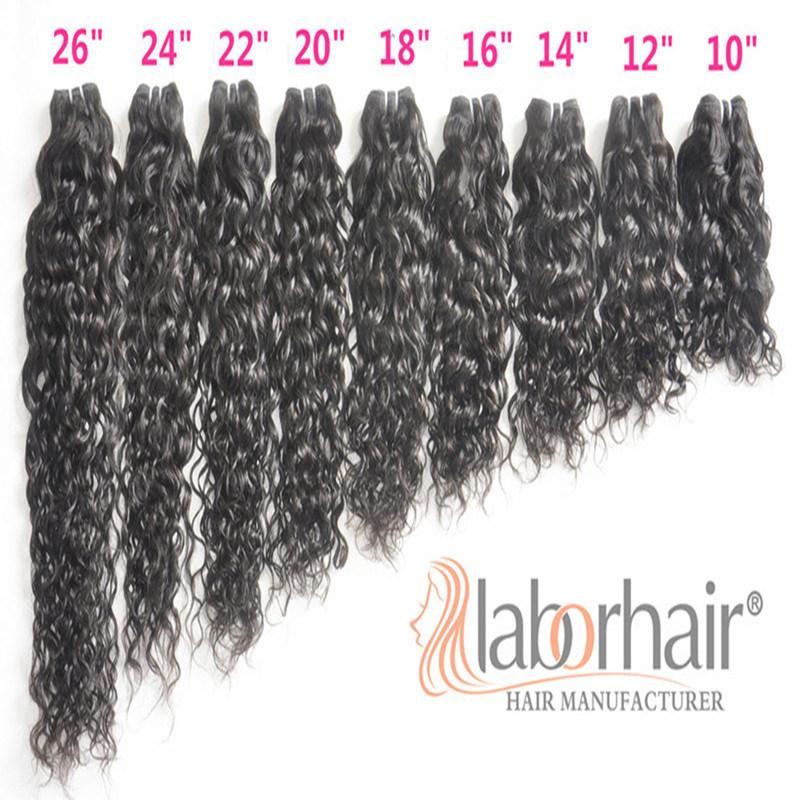 9A Labor Hair Products Brazilian Hair Weave Bundles Italy/Franch Wave Virgin Hair 105g, Top Human Hair Extension Bundles