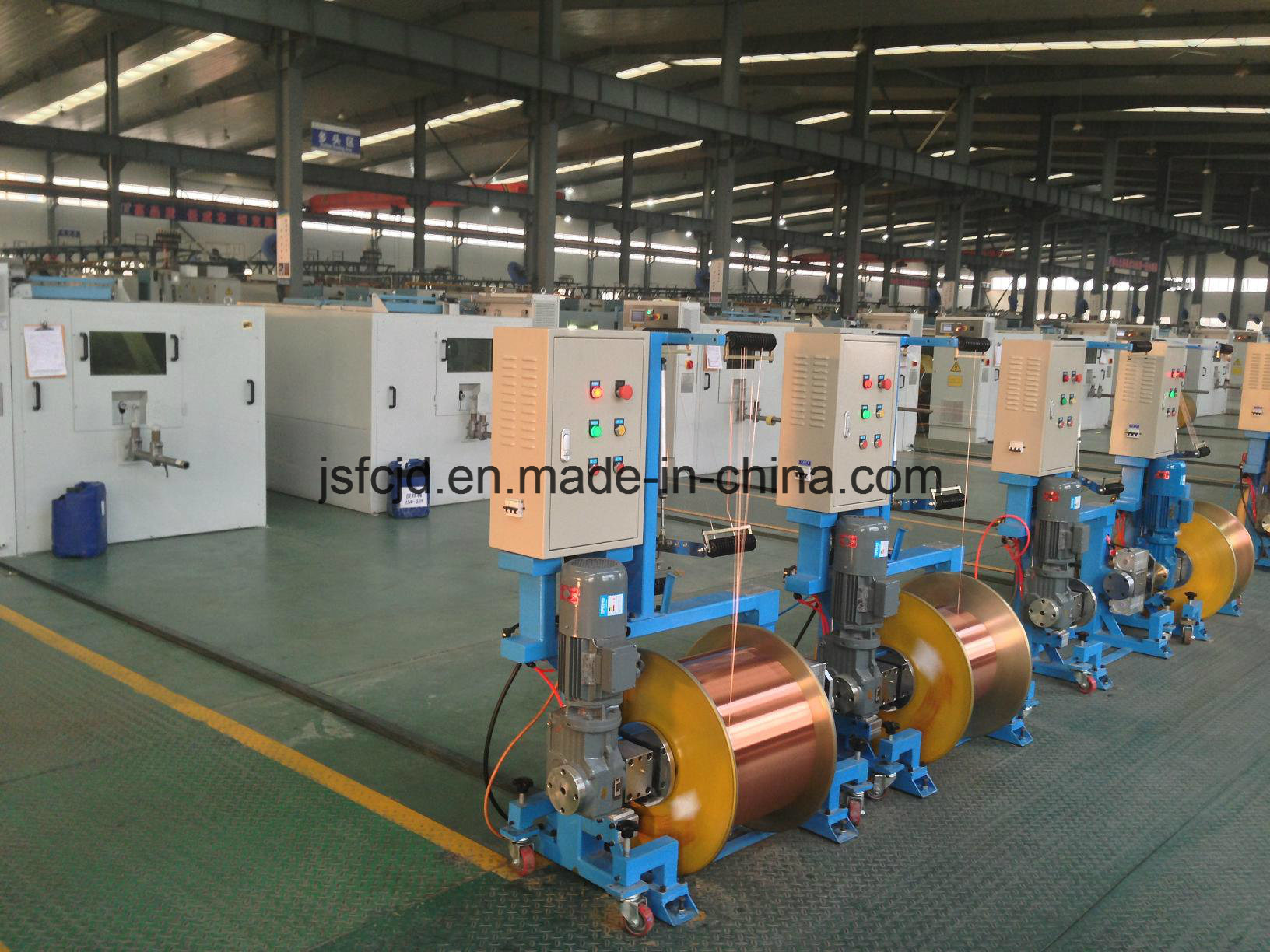 FC-630 Shaftless Multiple Head Drawing Motor Rised Pay-off Machine