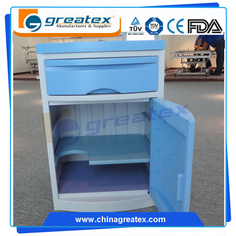 Hospital Bedroom Beside Cabinet Medical Equipment for Patient (GT-TA035)