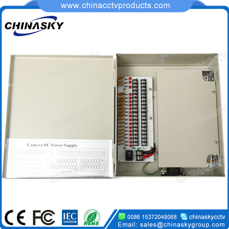 12VDC 20AMP 18channels CCTV Power Supply Unit (12VDC20A18PN)