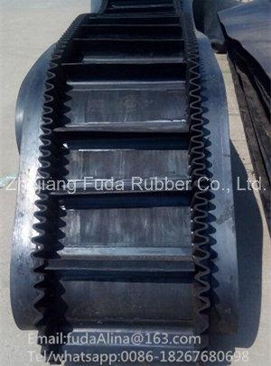 Cheap Wholesale Raised Edge Rubber Sidewall Conveyor Belt and Steep Belt Conveyor