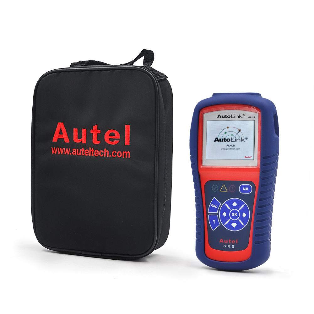 Car Diagnostic Scan Tool Autel Autolink Al419 OBD II & Can Code Reader
