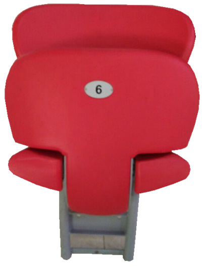 Blm-4808 Plastic Suspension Wall Mounted Outdoor Folding Chairs Cute