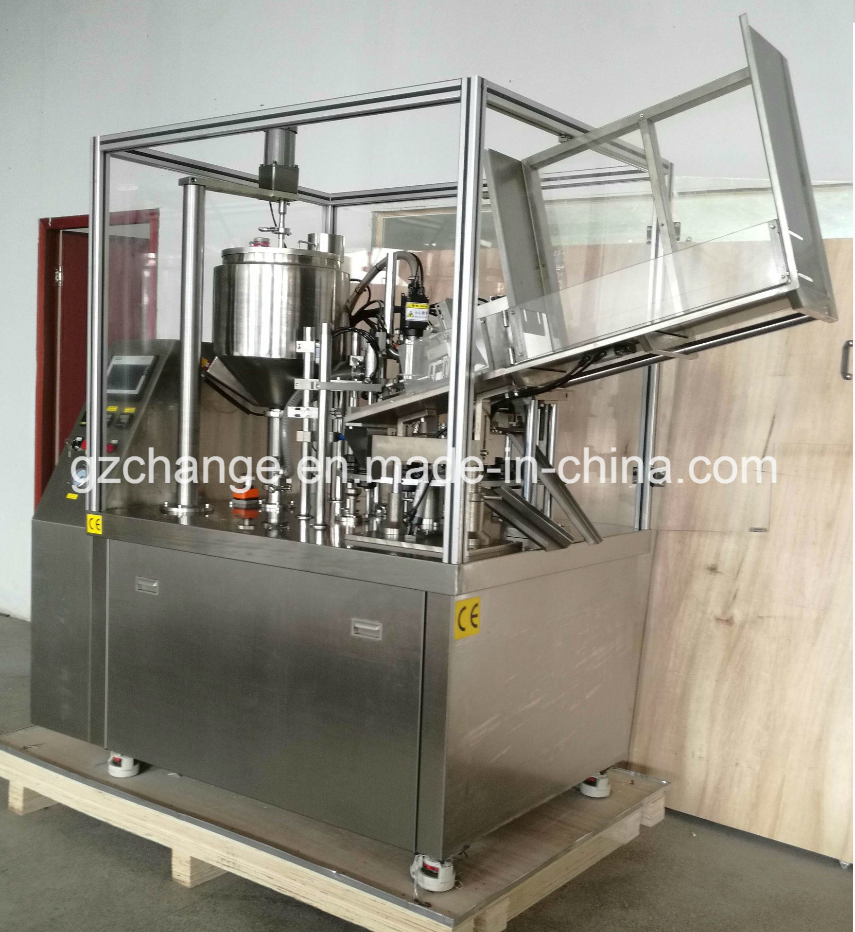 Auto Filling & Sealing Machine for Tubes