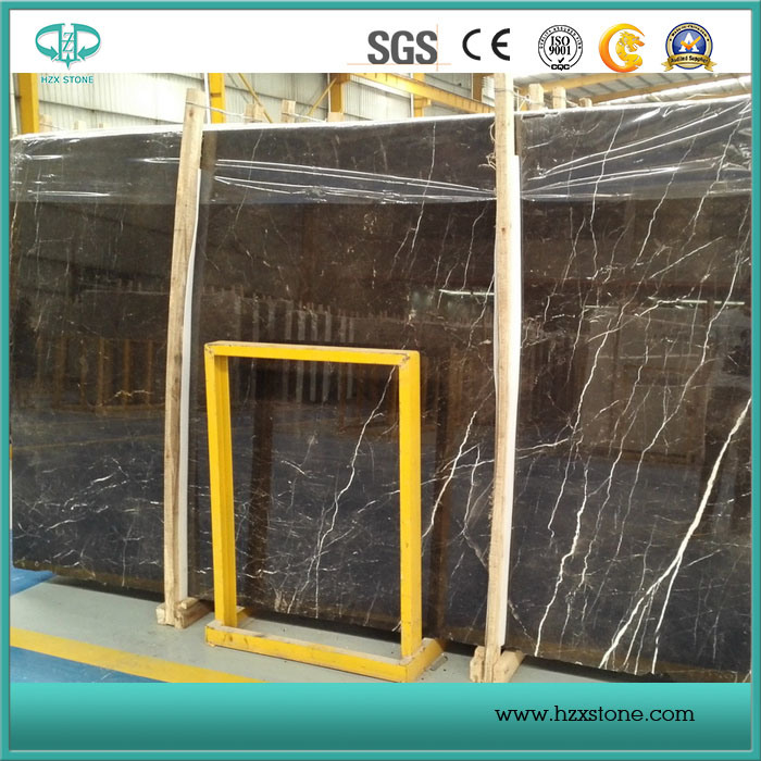 Stock Cheap Top Quality St. Laurent/Emperador/Cindy Grey/Nero Marquina Marble Slabs