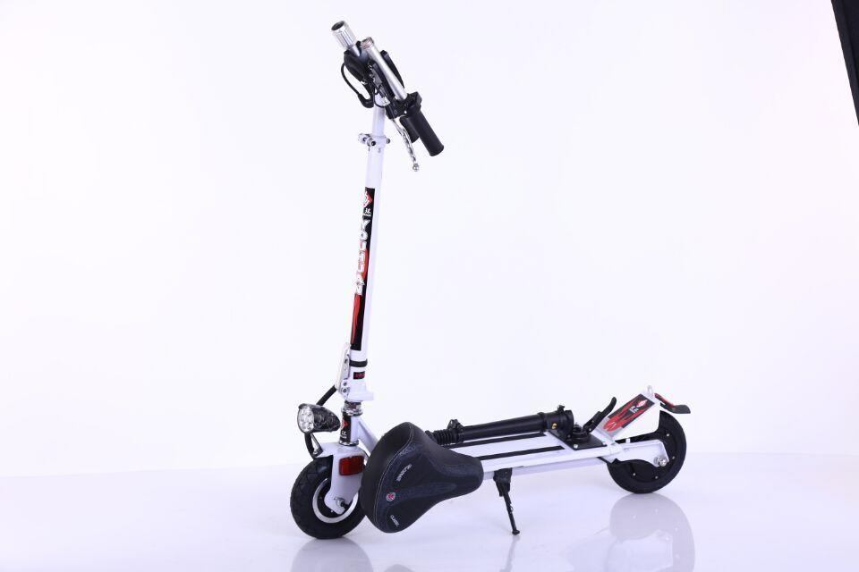 Smartek 350 W 8 Inch City Scooter Patinete Electrico Foldable Electric Scooters with Lithium Battery