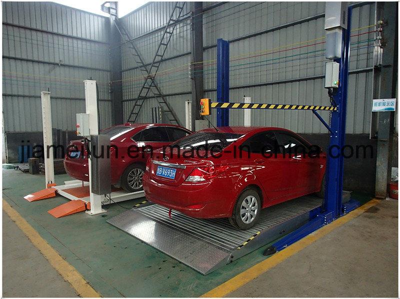 Parking System 2 Vehicles Car Storage Solution