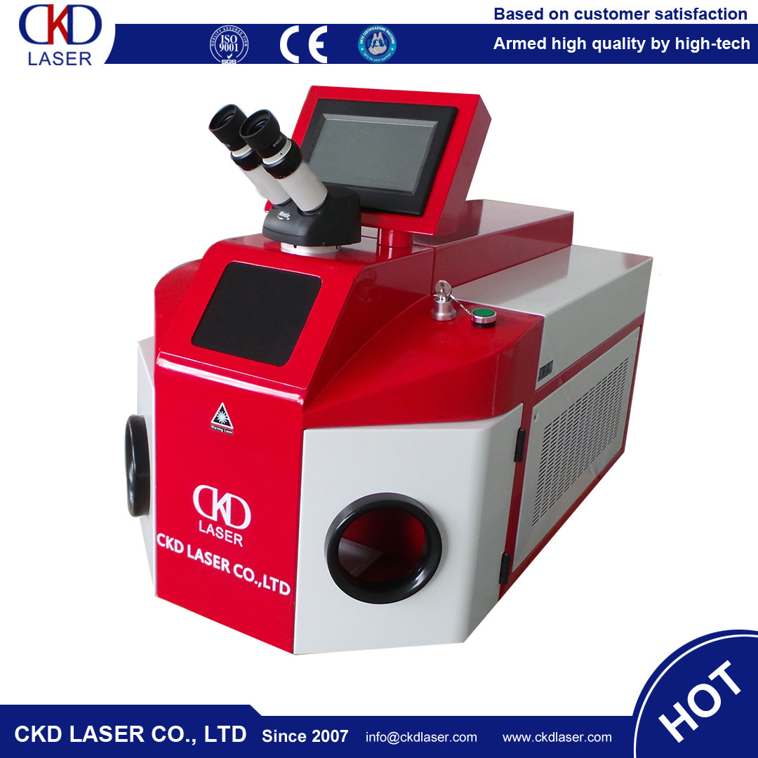Tableware Jewelry YAG Laser Welding Machine for Ring Necklace