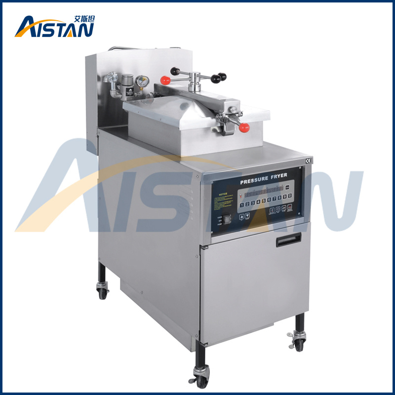 Electric or Gas Type Chinese Manufacturerchip Pressure Fryer of Catering Equipment