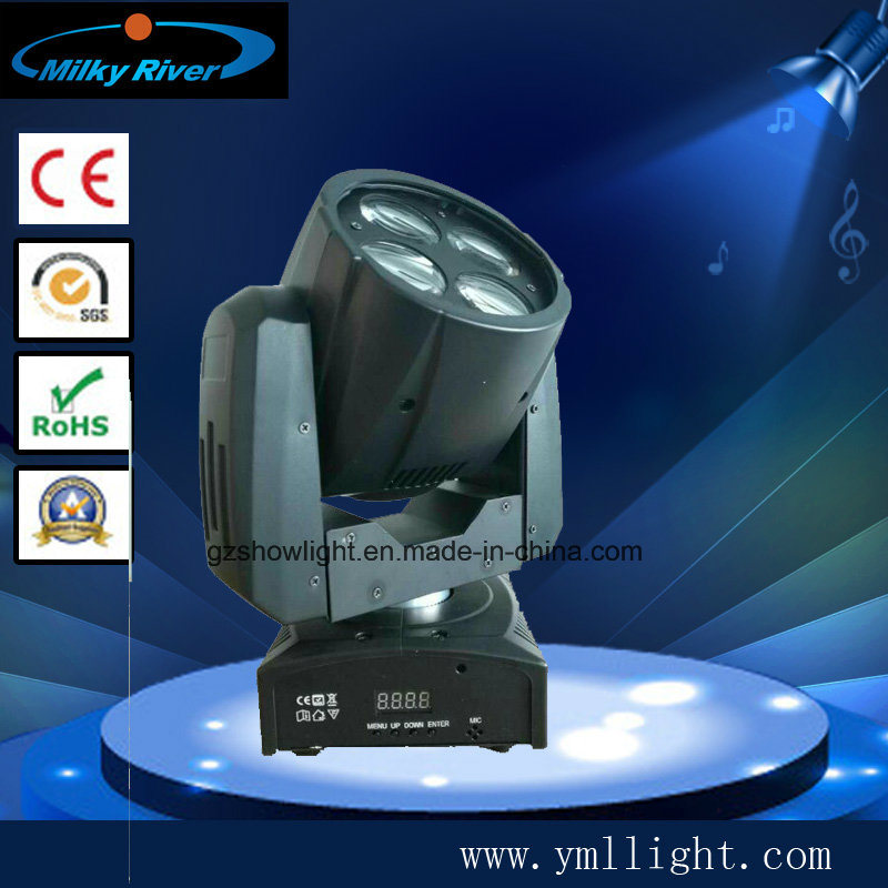 2017new Best Selling 4PCS*10W Mini Super Beam Moving Head Light Star Concert Light